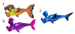 [OPEN 3/3] Mermaid Adopts by issaMorg