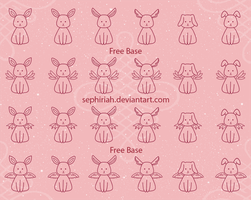 Rabbit Base  [Free to Use] by Sephiriah