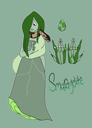 SU character: Smaragdite by PUPPYPOWER123