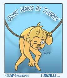 Hang in there by TheInsaneDingo