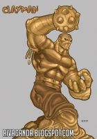 Sandman + Clayface = CLAYMAN by RIVOLUTION