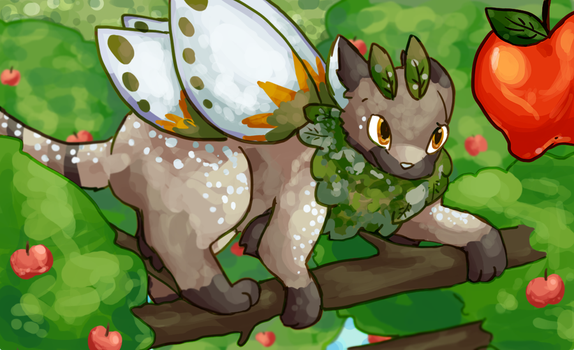 [Q] Quest + Mothcats - Get That Apple by mewhaku