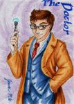 10th Doctor - Playing Card by Jianre-M