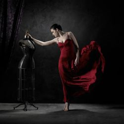 Dancers in Red by bigskystudio