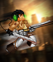 Attack On Minecraft by ShadowVenom718