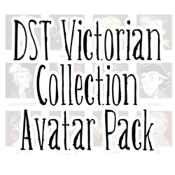 Don't Starve Together Avatar Pack - Victorian by ItsTheBlob