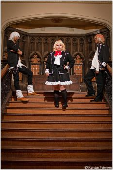 Diabolik Lovers: On the Stairs by CosplayerWithCamera