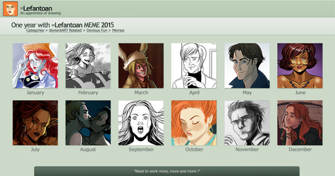 2015 in art Meme by Lefantoan