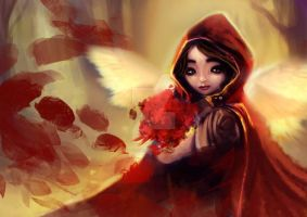 Red Riding Hood by DragonicPrincess