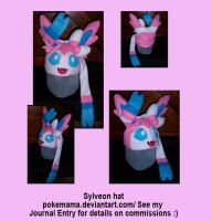 Sylveon hat by PokeMama