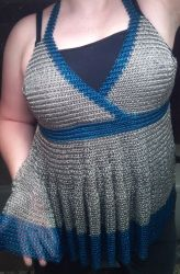 Chainmail Dress- half done by ulfchild
