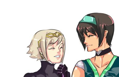 When you smile ~! by Caim-The-Order