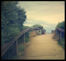 To the Ocean... In Vintage by pixi3angeldreamx