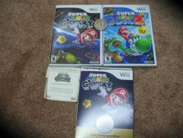 Super Mario Galaxy 1 And 2 With Rare Coin by TheTrueSurvivor