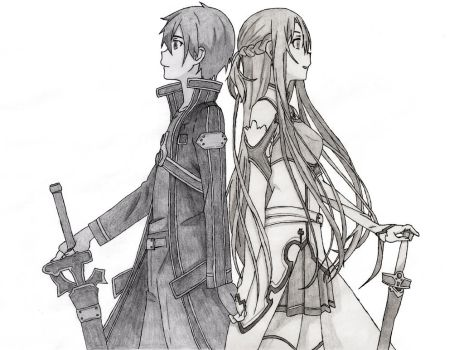 Real Feelings (Kirito and Asuna) by CaptainGhostly