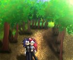 Walk in the forest by ChiptheHedgehog