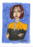 Klingon, Maquis, and Starfleet Officer by LizzyChrome