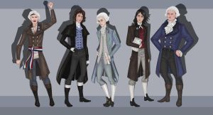French Revolutionaries by 0torno