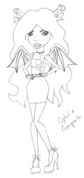 Ophelia Gargouille - Monster High OC by Autumns-Muse
