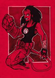 Hellgirl by DenisM79