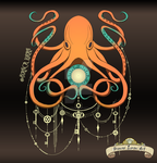 Timeless Octopus by biancaloran