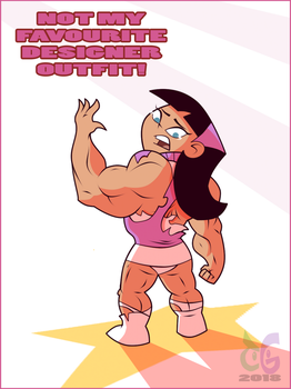 Tell me I'm pretty... strong by toongrowner