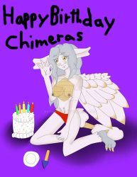 Happy Birthday Chimeras by BatEspada
