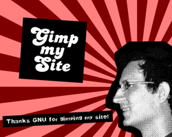Gimp my Site by bitstarr