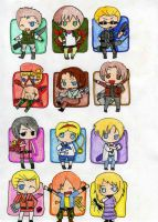 +Chibi Resident Evil Group+ by ShadowDark1