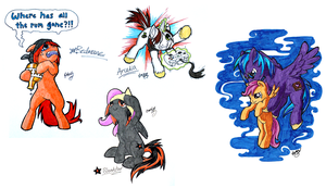 Brony weekend marathon - Commissions by Mythee