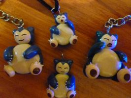 Snorlax charms
