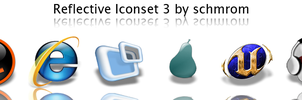 Reflective Iconset 3 by schmrom
