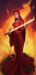 Game of Thrones - Melisandre by SoupAndButter