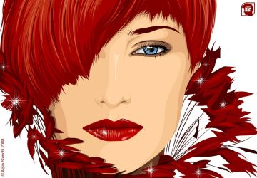 Lady in Red by alpio