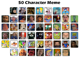 My 50 Character Meme by FootballLover