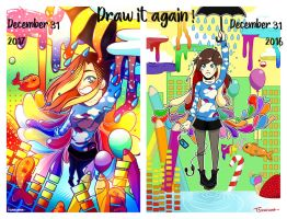 Draw it again ! Imaginary trip ~ by Tsunesamaa