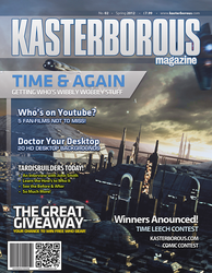 Kasterborous Magazine Layout by AHiLdesigns