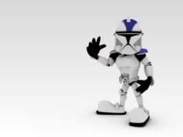 Clone Trooper, initial phase by JordiHP