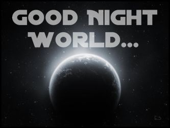 Good Night World by BL8antBand