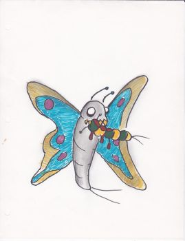Cannibal Butterfly by skull81