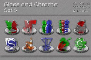 glass and chrome set 5 by xylomon