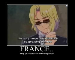 France Demotivational by YumeHoshiChan