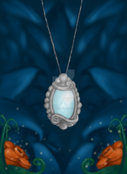 Amulet, or cover art 1 by TheWretchXenia