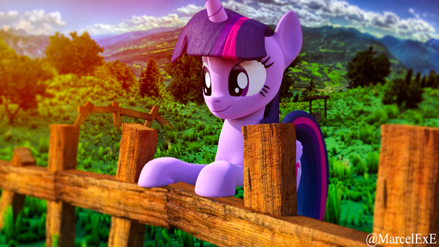 [B3D] [MLP] On The Fence by MarcelExE