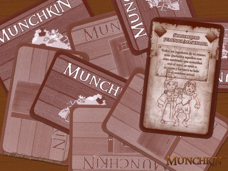 Munchkin Wall 02 by Darth-Longinus