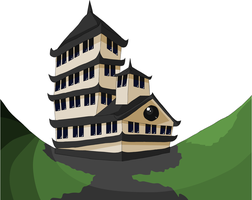 Crapanese Castle by DynoStorm