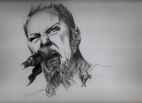 James Hetfield by craigbarretto