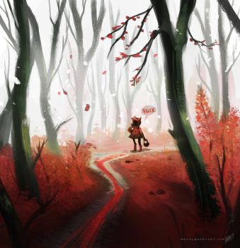 Red Trail by royalshark
