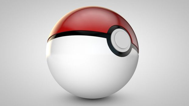 Pokeball by The3DLeopard