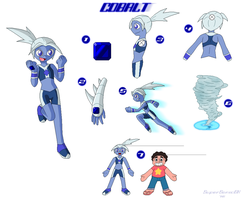 SU Gem OC-Cobalt (Fan-Made) by SuperSonicGX